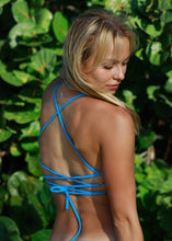 Load image into Gallery viewer, Blue Marine - Crop Top - Gabriela Pires Beachwear