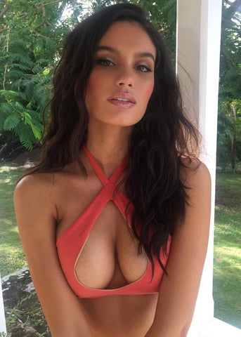 Anne de Paula top - Sports Illustrated Swimsuit 2018 - Gabriela Pires Beachwear