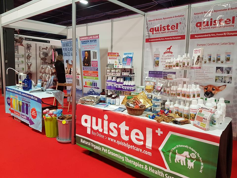 Quistel at the family pet show 2017