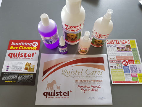 Donated quistel products