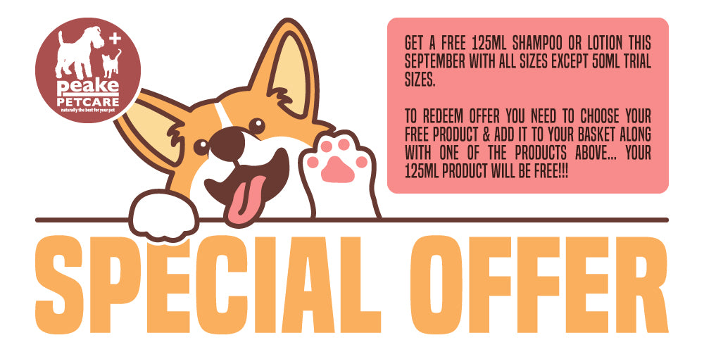 Quistel Peake Pet Care Special Offer Banner