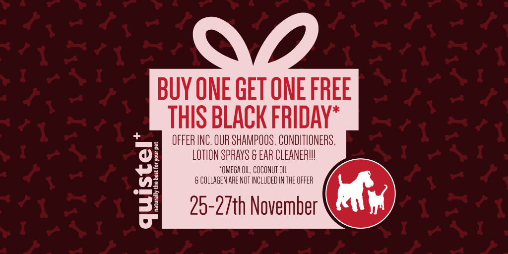quistel, petcare, pets, dogs, black friday, sale, grooming,