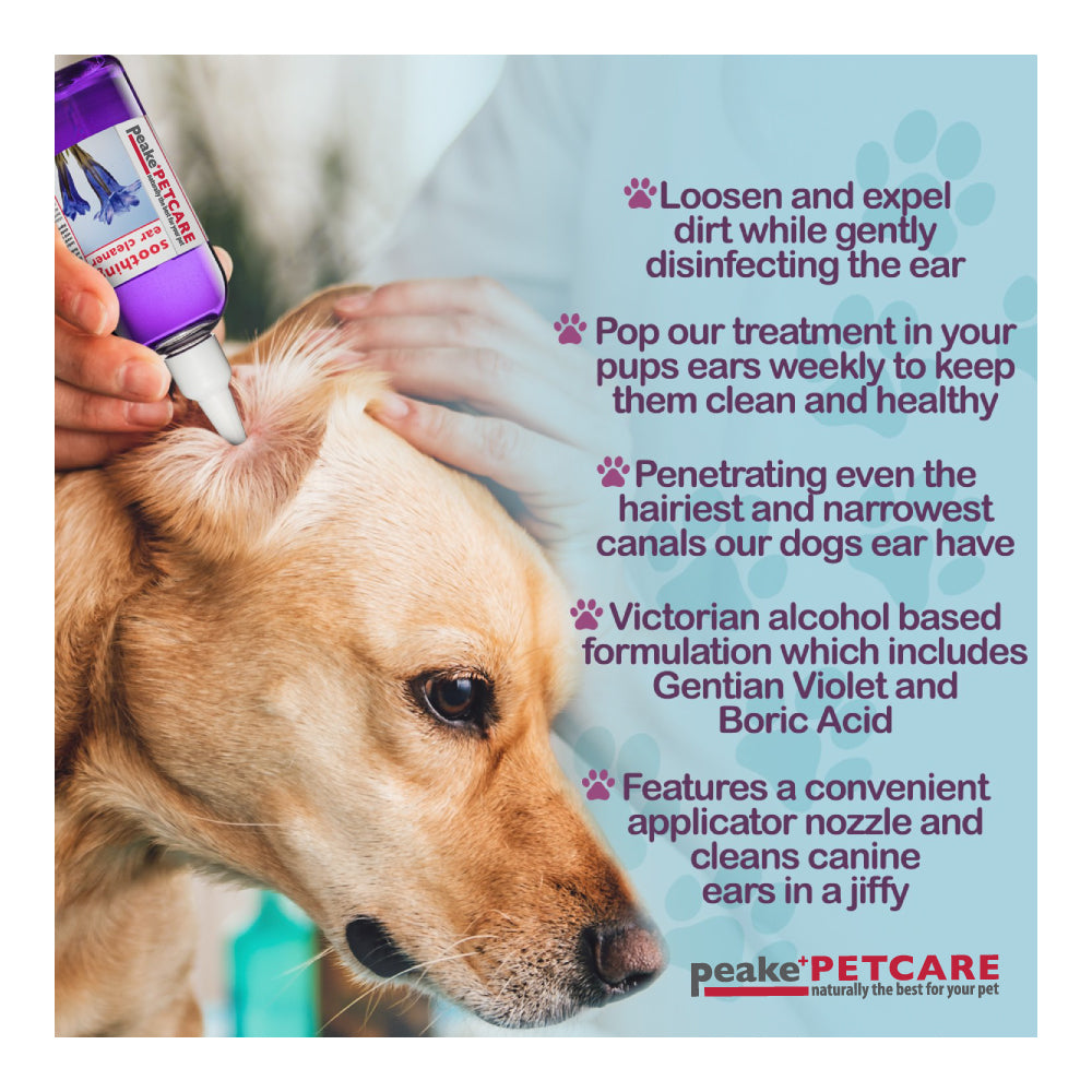 Peake Pet Care's Soothing Ear Cleaner - 50ml