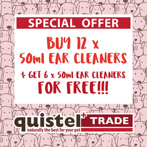 TRADE OFFER 1 - Buy 12 50ml Ear Cleaners & Get 6 FREE