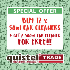 TRADE OFFER 2 - Buy 12 50ml Ear Cleaners & Get a 500ml Ear Cleaner For FREE