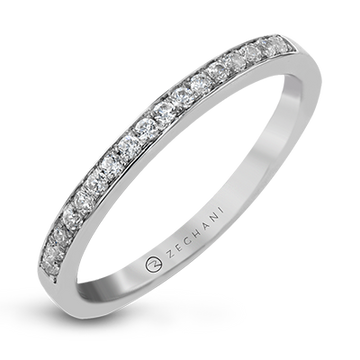 14KW CHANNEL SET DIAMOND WEDDING BAND ZR20PVWB