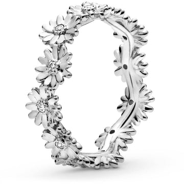 PANDORA SPARKLING DAISY FLOWER CROWN RING