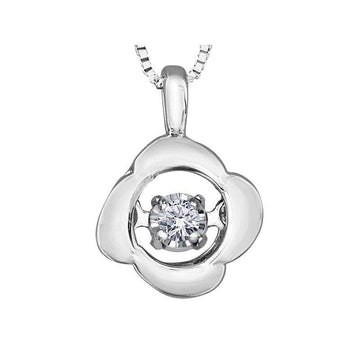 FOREVER JEWELLERY 10K WHITE GOLD DIAMOND NECKLACE - Appelt's Diamonds