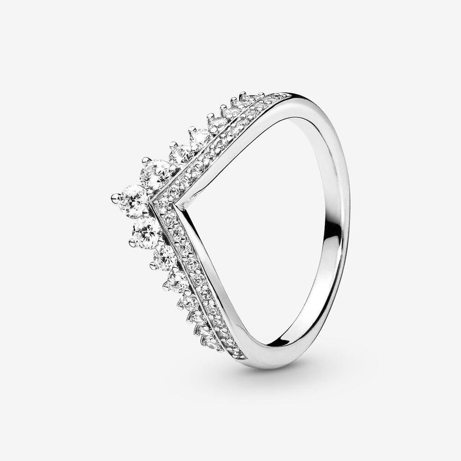 PANDORA PRINCESS WISHBONE RING