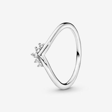 PANDORA TIARA WISHBONE RING