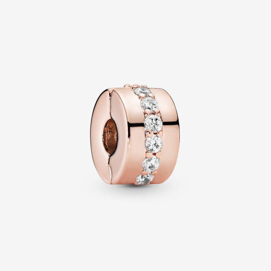 PANDORA ROSE SPARKLING ROW SPACER