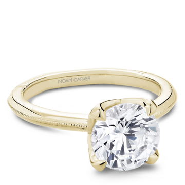 NOAM CARVER ATELIER 18K YELLOW GOLD ENGAGEMENT RING