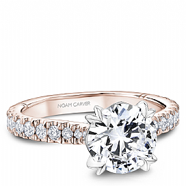 NOAM CARVER ATELIER 18K & DIAMOND ENGAGEMENT RING