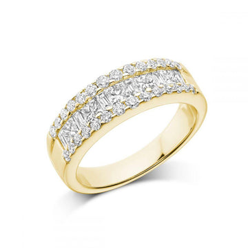 RNB 14K GOLD DIAMOND RING
