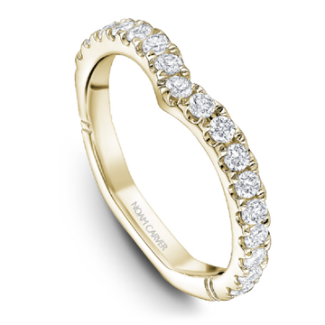 NOAM CARVER ATELIER 18K YELLOW GOLD WEDDING BAND