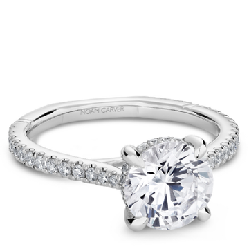 NOAM CARVER ATELIER 18K ENGAGEMENT RING