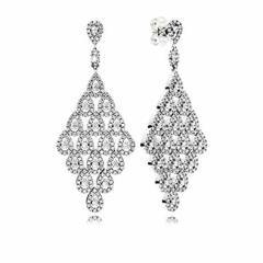 PANDORA EARRINGS CASCADING GLAMOUR DANGLE