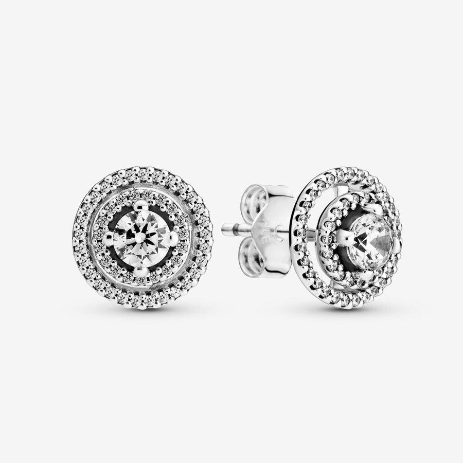 PANDORA SPARKLING DOUBLE HALO STUD EARRINGS - Appelt's Diamonds