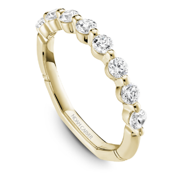 NOAM CARVER ATELIER 18K YELLOW GOLD LADIES WEDDING BAND - Appelt's Diamonds