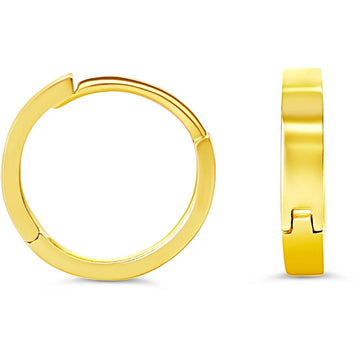 10K GOLD MINI HUGGIE EARRINGS - Appelt's Diamonds