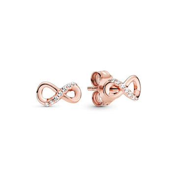 PANDORA SPARKLING INFINITY STUD EARRINGS - Appelt's Diamonds