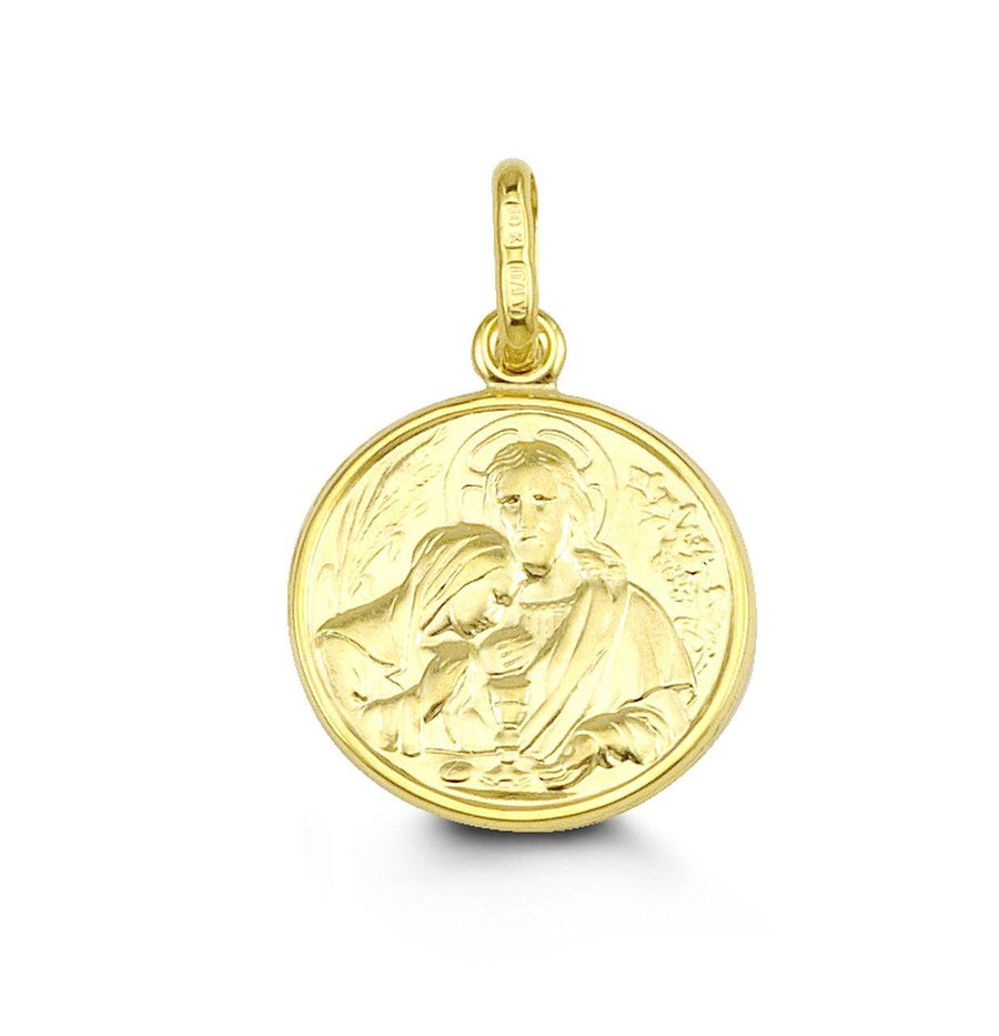10K GOLD COMMUNION PENDANT
