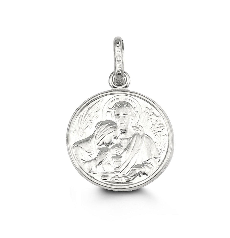 NOAH COMMUNION PENDANT 10K WHITE GOLD