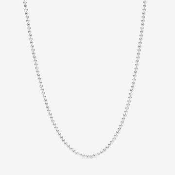 PANDORA POLISHED BALL CHAIN NECKLACE - Appelt's Diamonds