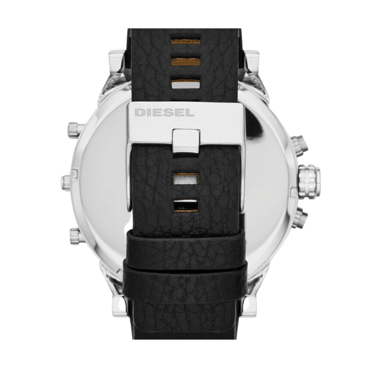 MR. DADDY 2.0 MULTIFUNCTION BLACK LEATHER WATCH - Appelt's Diamonds