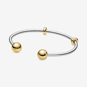 PANDORA SHINE MOMENTS SNAKE CHAIN BANGLE