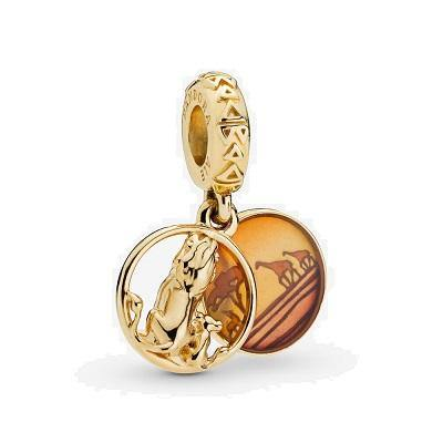 PANDORA DISNEY SIMBA & MUFASA DANGLE