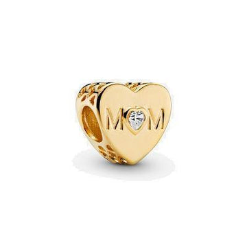 PANDORA SHINE MOTHER HEART CZ BEAD