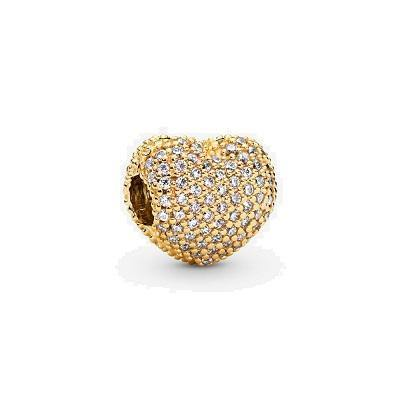 PANDORA SHINE PAVE OPEN MY HEART CZ CLIP - Appelt's Diamonds