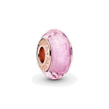PANDORA ROSE  RGP PINK SHIMMER GLASS BEAD