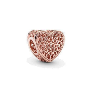 PANDORA ROSE  FILLED WITH ROMANCE BEAD