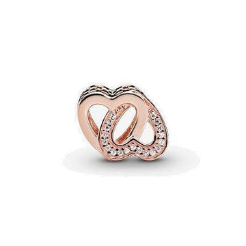 PANDORA ROSE ENTWINED LOVE CZ BEAD