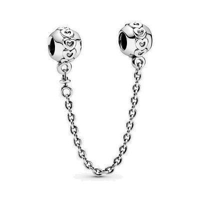 PANDORA  LOVE CONNECTION SAFETY CHAIN - Appelt's Diamonds