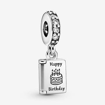 PANDORA  BIRTHDAY WISHES CZ DANGLE