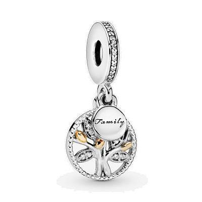 PANDORA  FAMILY HERITAGE TREE DANGLE
