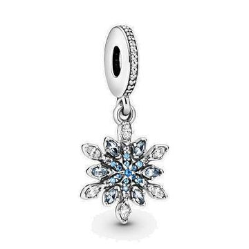 PANDORA  SHIMMERING SNOWFLAKE DANGLE
