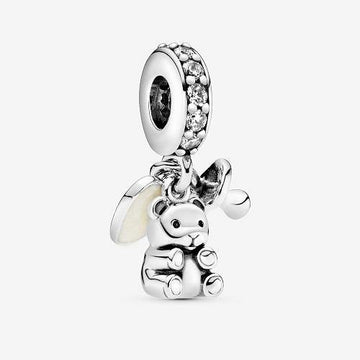 PANDORA  BABY TEDDY BEAR DANGLE