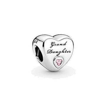 PANDORA  GRANDDAUGHTER HEART CHARM