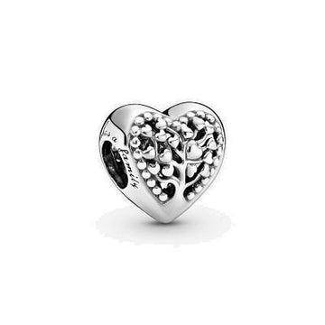 PANDORA  FAMILY TREE HEART CHARM