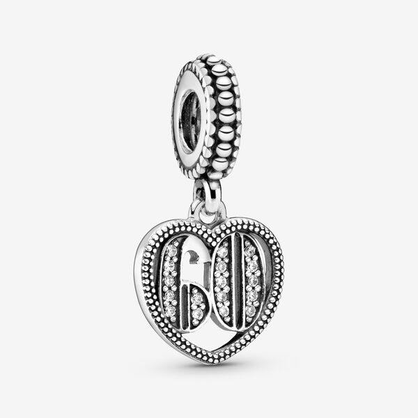 PANDORA  60 YEARS OF LOVE CZ DANGLE