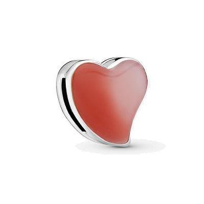 PANDORA REFLEXIONS  ASYMMETRIC HEART OF LOVE BEAD