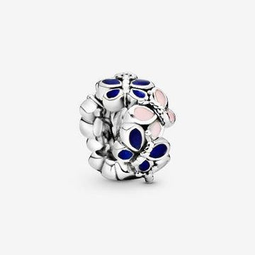 PANDORA  BUTTERFLY ARRANGEMENT MIXED ENAMEL SPACER