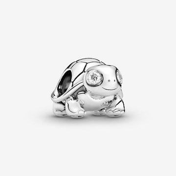 PANDORA  BRIGHT-EYED TURTLE CHARM