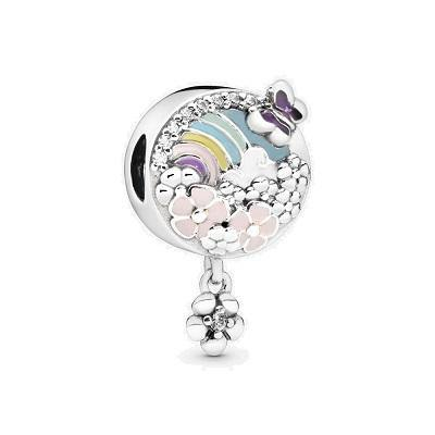 PANDORA  RAINBOW & FLOWER DANGLE - Appelt's Diamonds