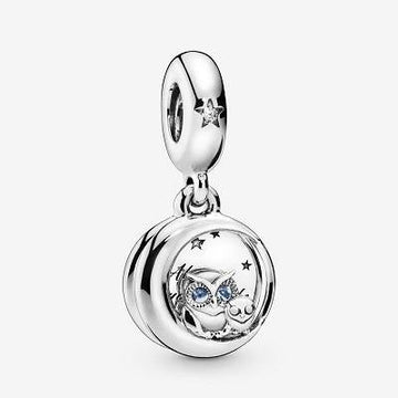 PANDORA  ALWAYS BY YOUR SIDE OWL CZ DANGLE