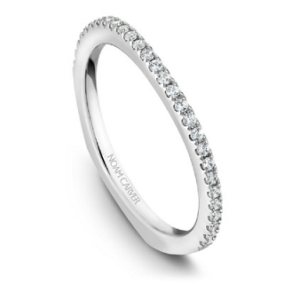 NOAM CARVER WEDDING BAND B001-03WA-100B